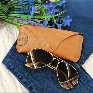 Ray Ban Aviators with Case